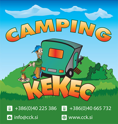 Kamping center Kekec logo