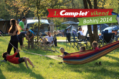 camp let vikend bohinj 2014